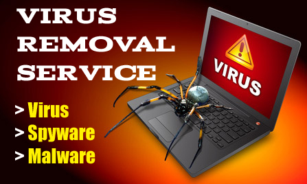 Virus Removal Logo Virus Removal Services at